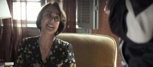 Evelina conseguirá um marido rico. (Reprodução/TV Globo)