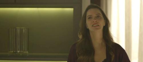 Fabiana ameaça atirar em Agno. (Reprodução/ TV Globo)
