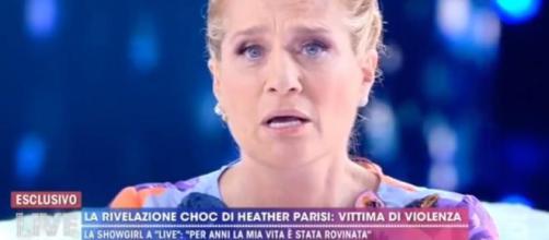 Live Non è la D'Urso: Heather Parisi racconta sette anni di violenze.