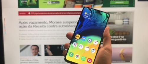 Aparelho celular, dispensado das provas do Enem. (Arquivo Blasting News)