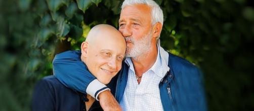 Diego (Francesco Vitiello) e suo padre Raffaele (Patrizio Rispo)