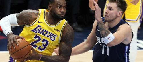 LeBron James vs Luka : c'était le duel de la nuit