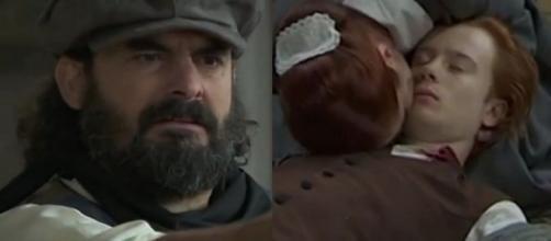 Una Vita anticipazioni: Raul rischia di morire per difendere la madre.