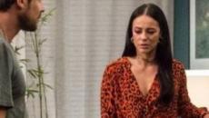 'A Dona do Pedaço': Paolla Oliviera e Sérgio Guizé são vistos gravando cena romântica