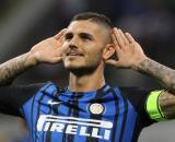 Mauro Icardi, ex capitano dell'Inter, ora in prestito con diritto di riscatto al PSG