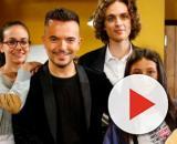 Alex (Maria Maurigi), Andrea Sannino, Vittorio (Amato Alessandro D'Auria) e Mia (Ludovica Nasti)