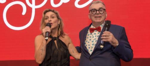 Amora Mautner e Walcyr Carrasco. (Reprodução/TV Globo)