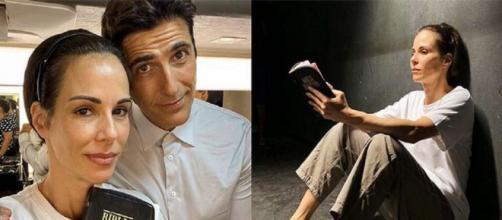Ana Furtado revela curiosidade sobre bíblia que usa em A Dona do Pedaço. Reprodução/Instagram