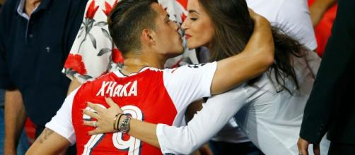 Granit Xhaka, centrocampista dell'Arsenal.