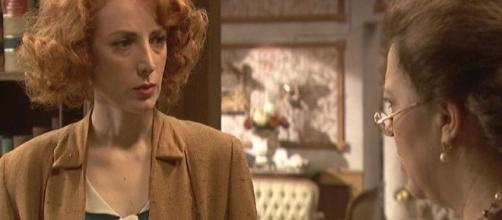 Il Segreto, spoiler: Irene sospetta che Adela sia morta a causa di Esteban Fraile