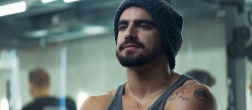 Inicialmente, Rock teria um caso com Agno na novela. (Reprodução/TV Globo)