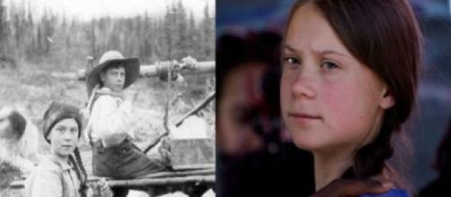 Teoria del complotto su Greta Thunberg: sarebbe una viaggiatrice del tempo