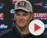 Brady had a good relationship with Brown during the latter's short stint with Patriots. [Image Source: New England Patriots/YouTube]