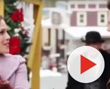 Erin Krakow and the 'When Calls the Heart' cast are already in the Christmas spirit and curious about some things. [Image source: Rylee/YouTube]