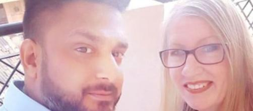 90 Day Fiance couple Jenny and Sumit confirm they love each other but are not together yet - Image credit - sumitjenny / Instagram
