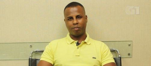 Albert Angelo comentou sobre o crime de injúria racial por qual passou. (Reprodução/TV Globo)