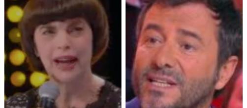 Bernard Montiel et Mireille Mathieu se sont expliqués sur le plateau de TPMP. Credit: capture d'écran/TPMP