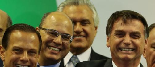 Bolsonaro faz críticas a Witzel. (Arquivo Blasting News)