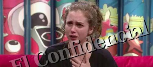 Carlota Prado, en el confesionario de 'GH Revolution' / El Confidencial