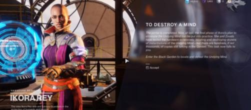 'Destiny 2' players are pretty much disappointed with the Undying Mind. [Image source: xHOUNDISHx/YouTube]