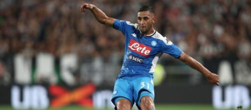 Faouzi Ghoulam, difensore Napoli.