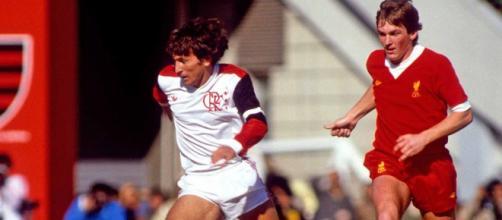 Flamengo-Liverpool 3-0, Coppa Intercontinentale 1981: Zico e Kenny Dalglish