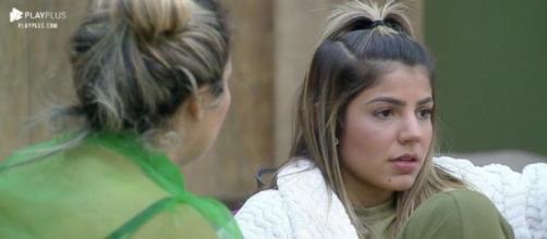 Hariany e Lucas tiveram novo desentendimento em 'A Fazenda'. (Arquivo Blasting News)
