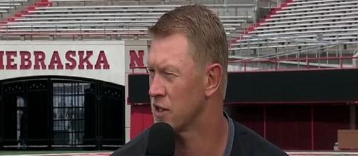 Nebraska football is looking at bringing in some big defensive prospects [Image via Big Ten Network/YouTube]