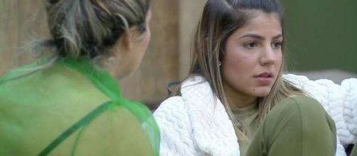 Thayse demonstra preocupação com Hariany em 'A Fazenda 11'. (Reprodução/Record TV)