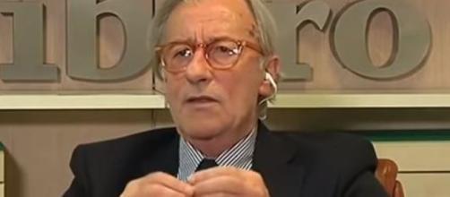Vittorio Feltri ancora una volta particolarmente duro nei confronti del governo