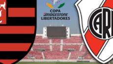 Flamengo x River Plate: transmissão ao vivo na TV Globo, neste sábado (23), às 17h