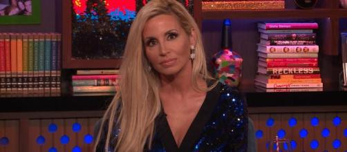 Camille Grammer is seen on 'Watch What Happens Live.' [Photo via WWHL Bravo| YT]
