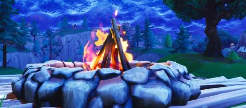 Campfires have been buffed in the last 'Fortnite' update. Image Source: In-game screenshot]