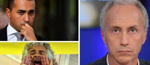 Dopo il voto su Rousseau, Marco Travaglio attacca Di Maio
