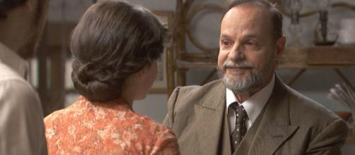 Il Segreto, trame spagnole: Raimundo felice della riappacificazione tra Matias e Marcela