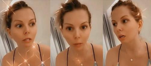 Jessica Thivenin maman : elle décide de bloquer tous les haters qui critiquent son rôle de mère. ® Snapchat/Jessica Thivenin.