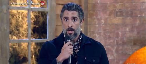 Marcos Mion emociona-se ao falar de Gugu Liberato. (Arquivo Blasting News)