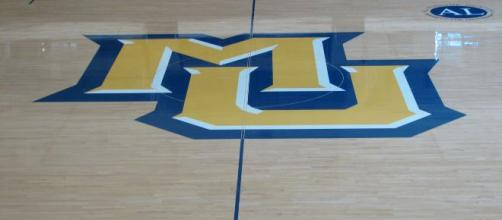 The floor at he home venue for Marquette's women's basketball team. [Image via Kurt Magoon - Flickr]
