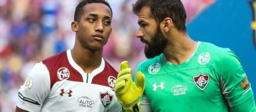 Mais uma vez, João Pedro está fora de jogo do Flu. (Lucas Merçon/Fluminense)