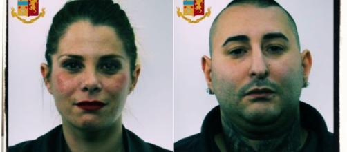 Romina Giarraffa e Giuseppe Manca sono stati arrestati dalla Polizia.