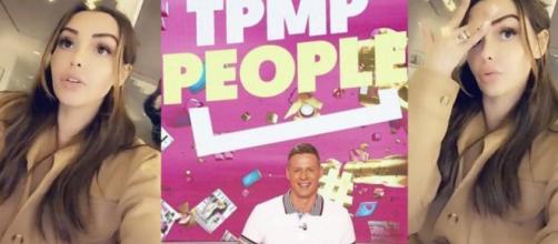 TPMP People : Matthieu Delormeau et ses chroniqueurs critiquent Nabilla et son style de vie, elle répond et tacle à son tour. © Snapchat/Nabilla