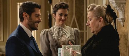 Una Vita, Lucia e Samuel si sposano