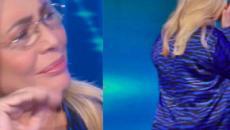 Domenica In, Mara Venier scoppia in lacrime durante l'intervista alla madre di Nadia Toffa