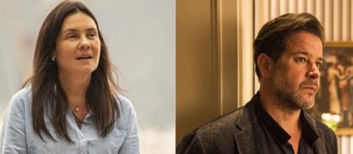 Adriana Esteves e Murilo Benício estarão no elenco de 'Amor de Mãe'. (Reprodução/TV Globo)