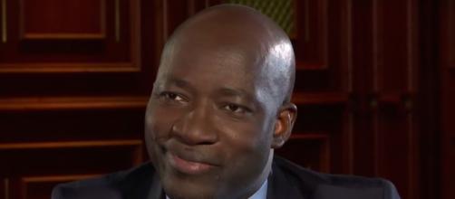 Charles Blé Goudé, Président du Cojep. Credit: Capture d'écran/ TV5Monde