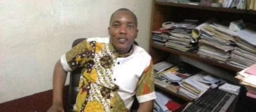 Christian Nana Tchuisseu Président de l'Icom Cameroun et Directeur du Musée la Blackitude (c) Odile Pahai