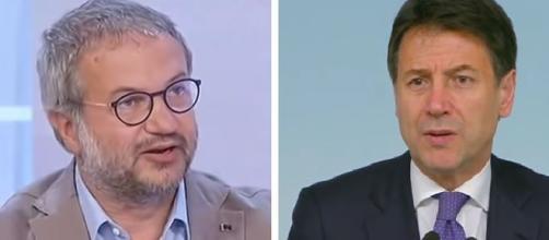 Claudio Borghi e Giuseppe Conte.