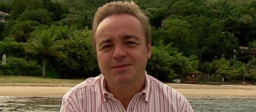 Documentário de Gugu, no Câmera Record, mostra imagens inéditas do apresentador. (Divulgação/Record)