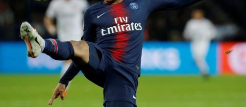 Mbappé, punta del Paris Saint Germain.