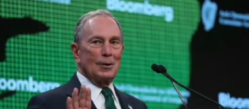Michael Bloomberg officially a 2020 Democratic candidate. [Image source/CBS Evening News YouTube video]